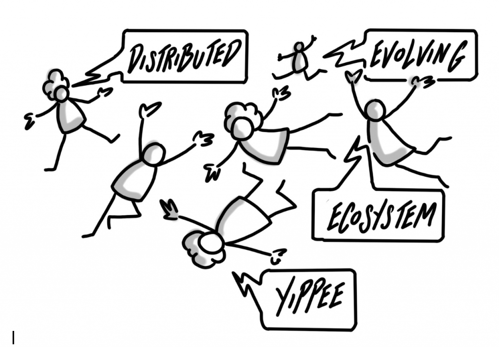 Agile20Reflect Festival Principle distributed evolving ecosystem yippee