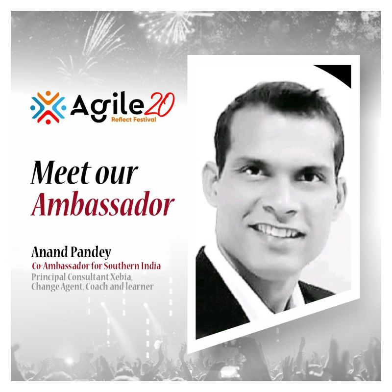 Anand Pandey Ambassador Announcement