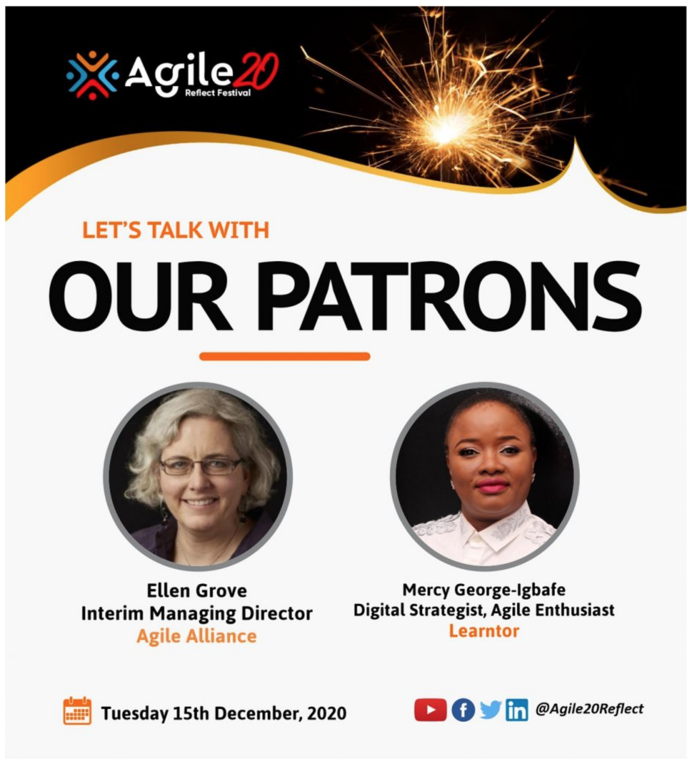 Ellen Grove Agile20Reflect Patron Interview