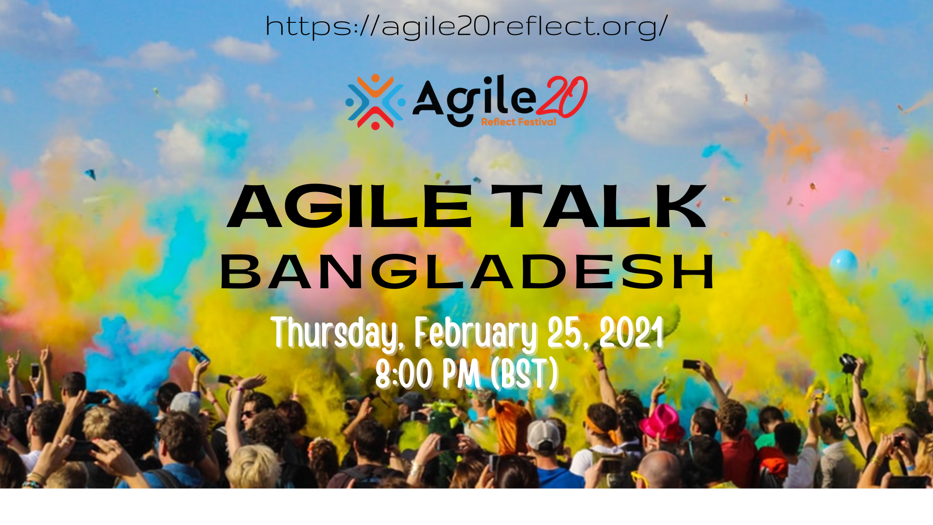 Agile20Reflect Agile Talks of Bangladesh Flier