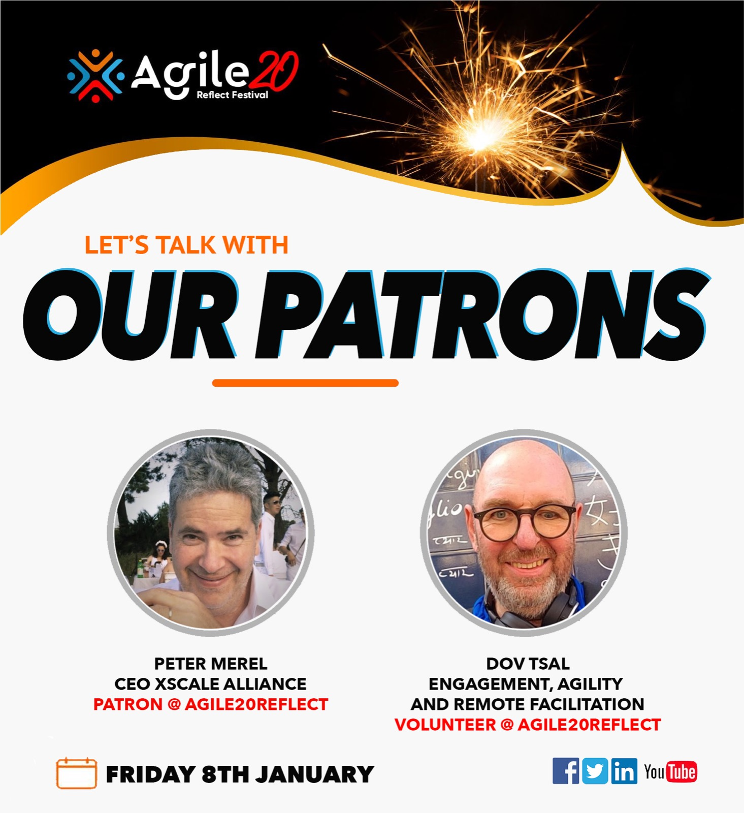 Agile20Reflect Festival Patron Peter Merel Interview