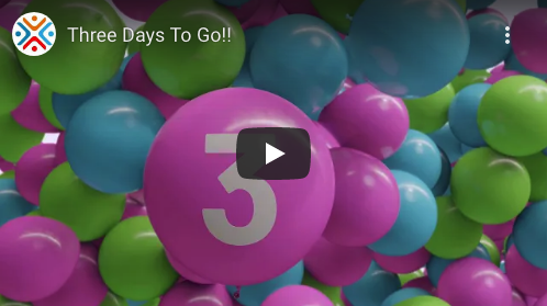 Countdown to the start of Agile20Reflect Festival, 3 days to go