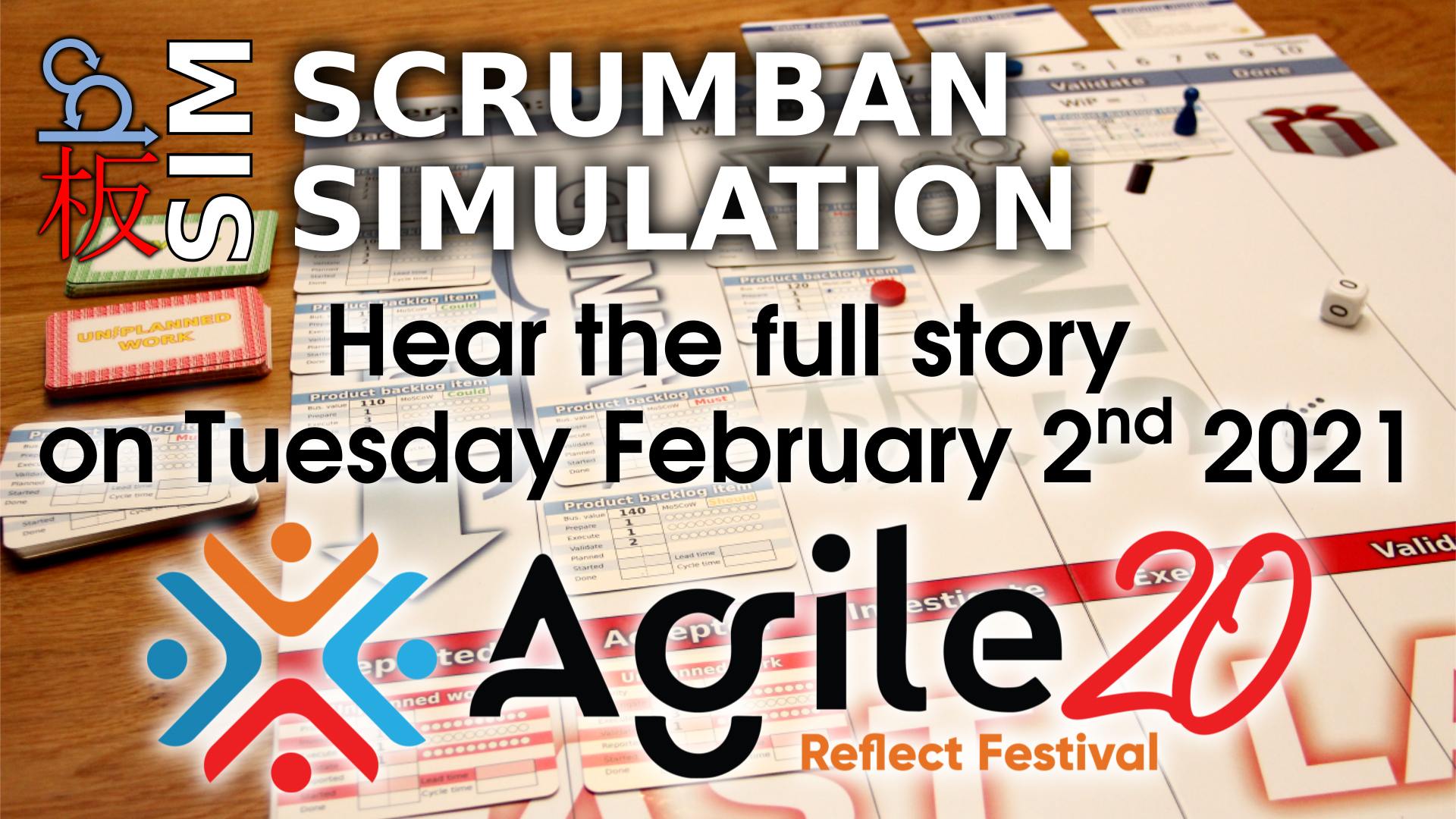 Scrumban not explained, experienced instead | the story behind the Scrumban simulation Agile20Reflect Festival