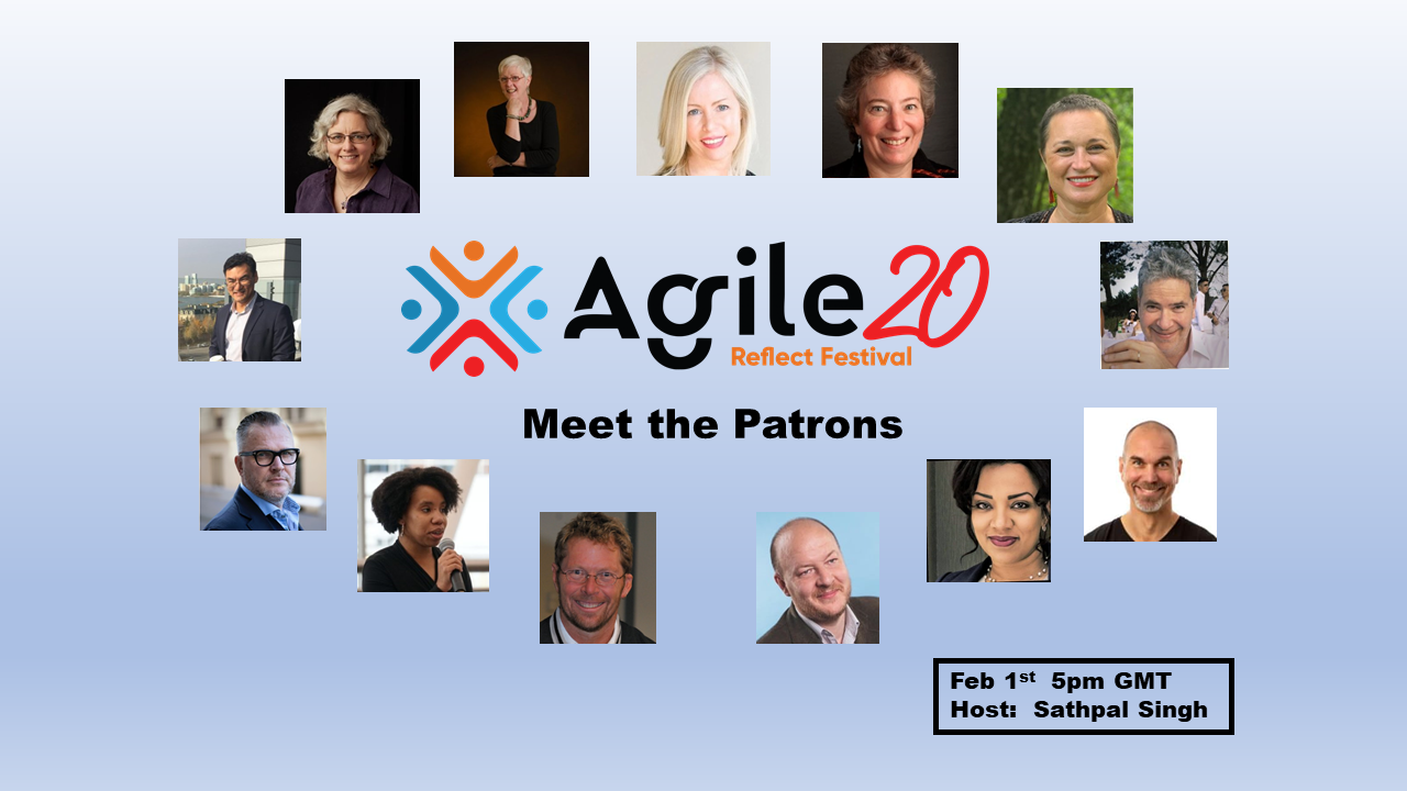 Meet the Patrons of Agile20Reflect Agile20Reflect Festival