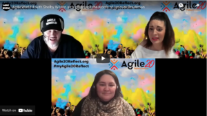 Agile World S1 E4 with Shelby Wilson as a guest and the words of Lynoure Braakman