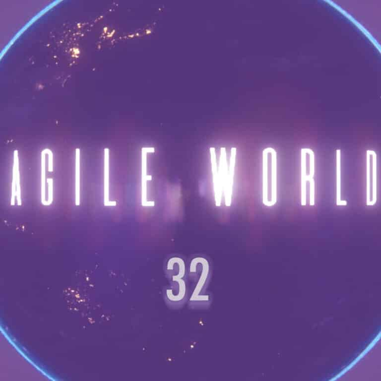 Agile World S2 E7 Sabrina C E Bruce and Karl Smith talk with Dhanusha Gokhool and Harold Campbell